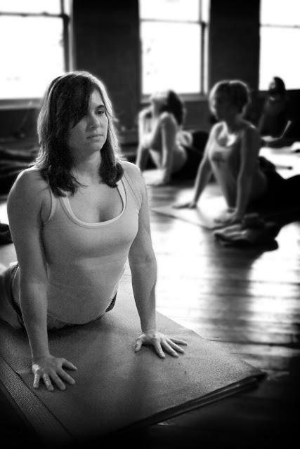 yoga student pose studio asana