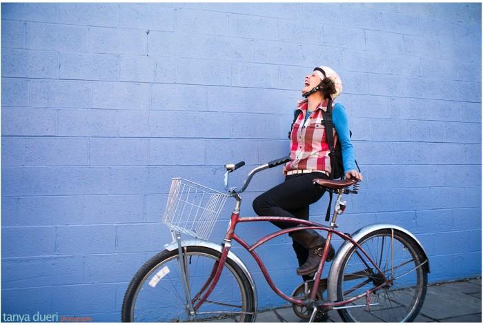 Ashleigh Hitchcock Bike Stylish © Tanya Dueri Photography