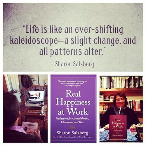 sharon salzberg walk the talk