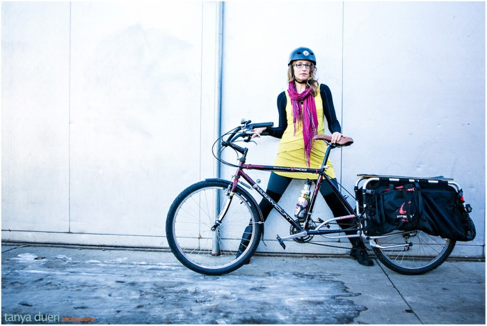 Lauren Champa Bike Stylish © Tanya Dueri Photography