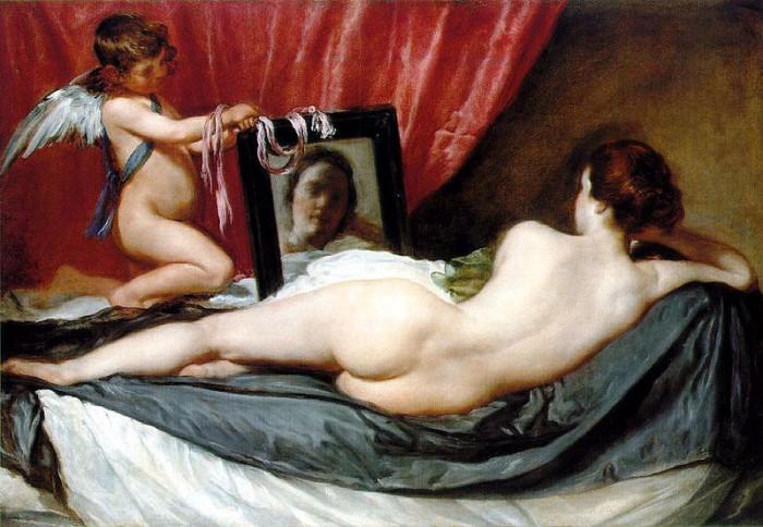 Diego_Velaquez,_Venus_at_Her_Mirror