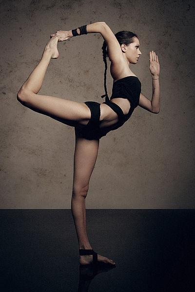 Natarajasana by Nina Mel, Yoga Teacher