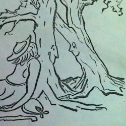 sketch by George Paulus