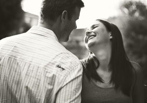 couple love smiling partner