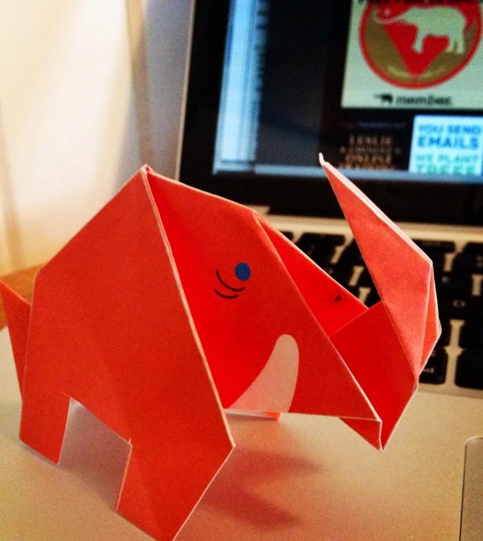 elephant_origami_Jennifer Moore