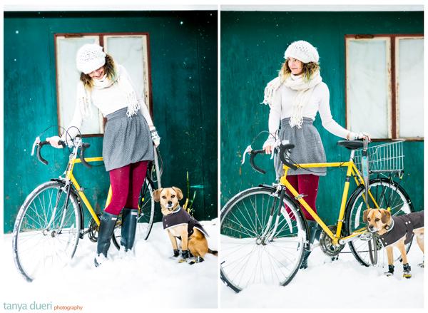 Jeanne Eisenhaure Bike Stylish