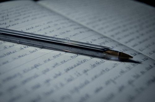 letter writing pen book