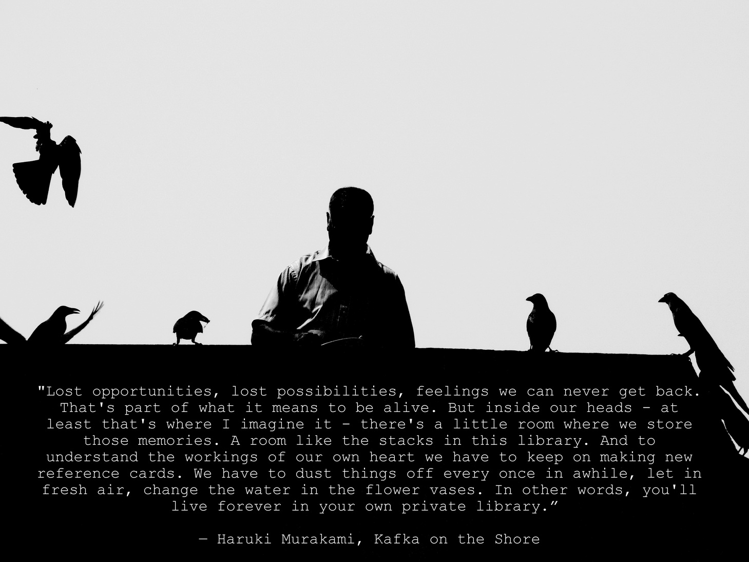 Murakami On The Libraries Of Our Mind Quote Elephant Journal