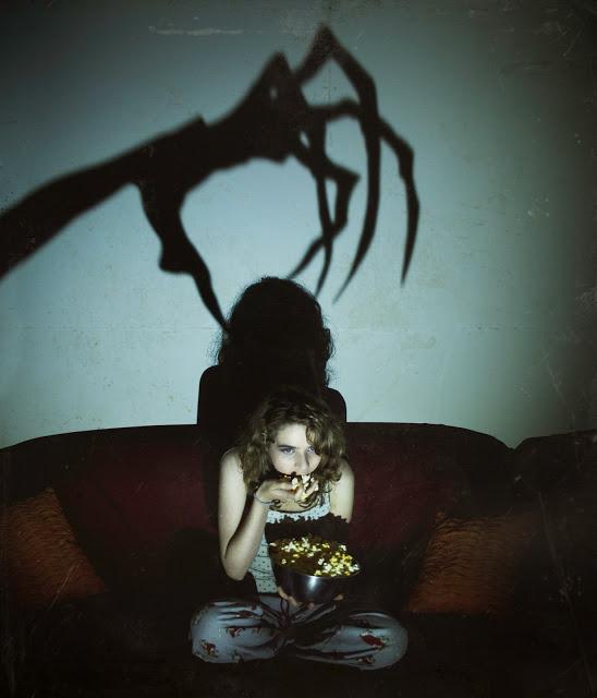 scared girl fear horror movie