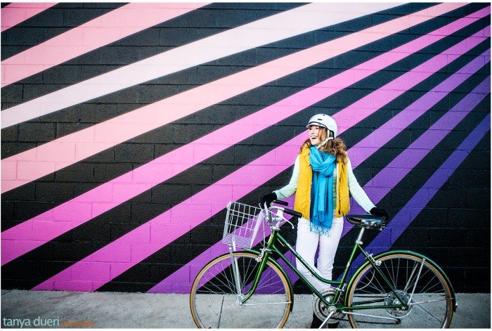 Sarah Mulbradt Bike Stylish © Tanya Dueri Photography