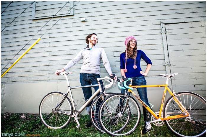 Steven Herzfeld & Haley Kaiser Bike Stylish © Tanya Dueri Photography
