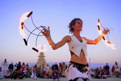 Burning Man Dance