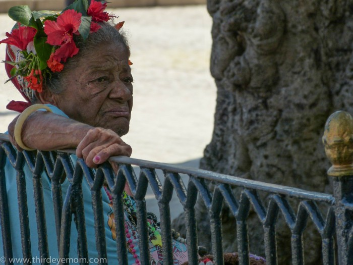Woman in Havana