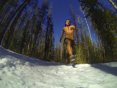 Tyler Tomasello running:winter