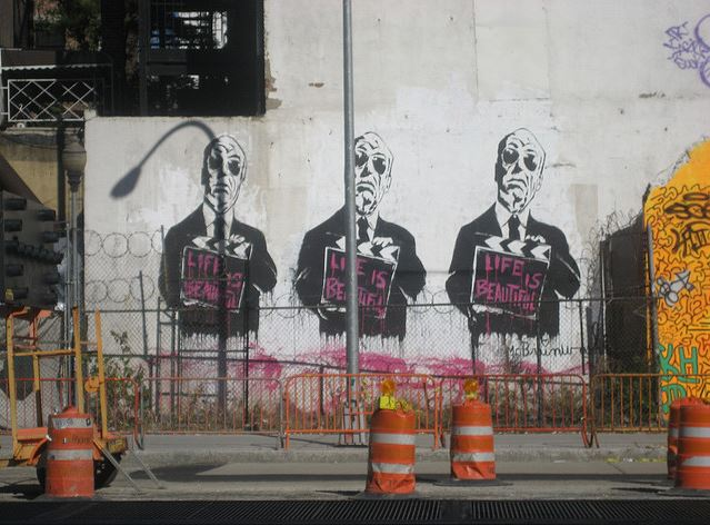 alfred hitchcock mural new york