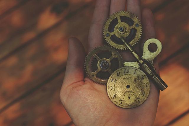 clock hand pieces mechanisms
