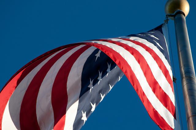 flag stars and stripes US