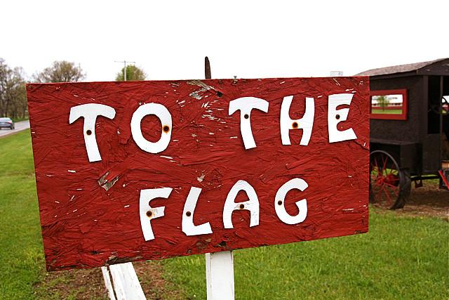 pledge allegiance flag USA