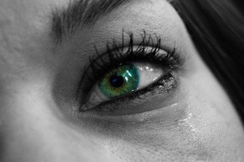 Woman Crying Tears