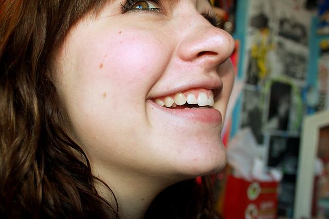 smile happy face girl