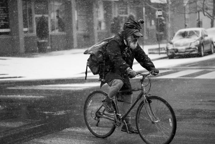 Bike Ride in City