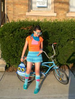 Bike with Girl