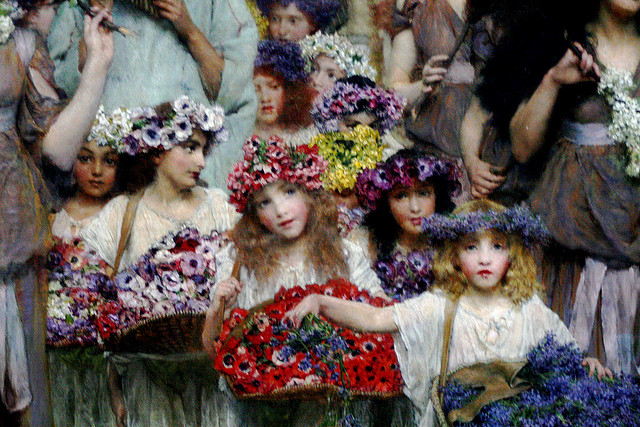 Flower girls Lawrence Alma-Tadema Dutch, 1894 Oil on canvas