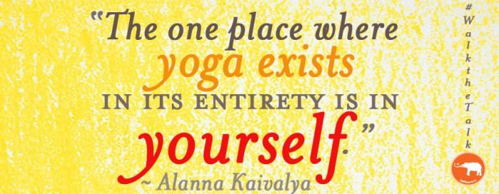 Alanna kaivalya  yoga