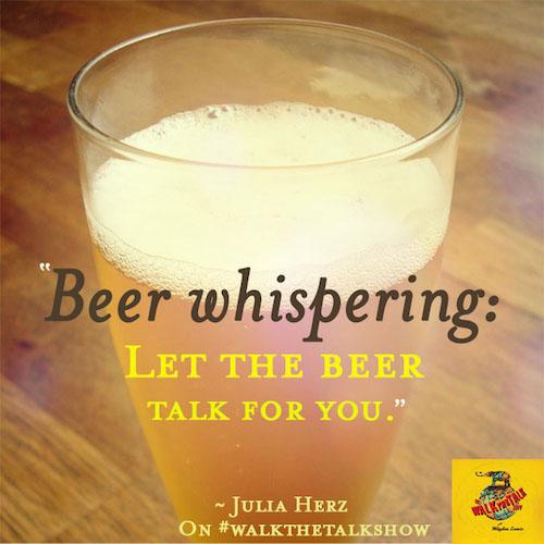 Beer Whispering julia herz craft beer