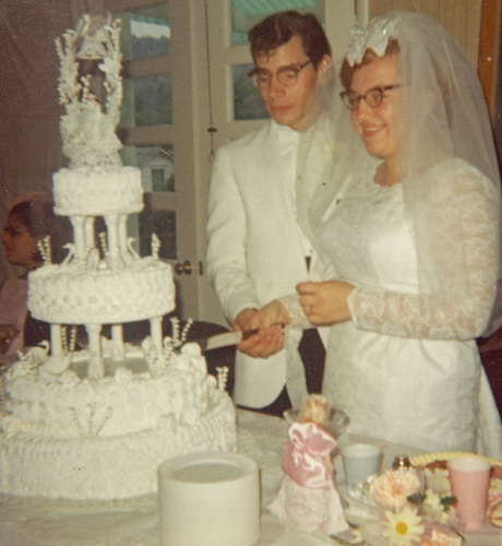 Harry & Kathy Weber 1967