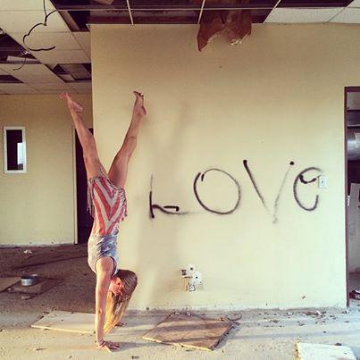 Rachel brathen love graffiti