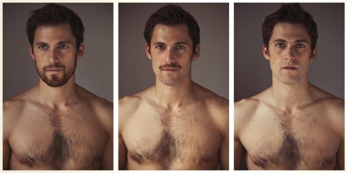 beard shave man
