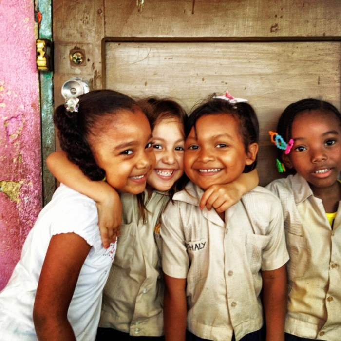 Girls in La Ceiba Honduras Day Care
