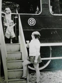 mom, lynn, lou train