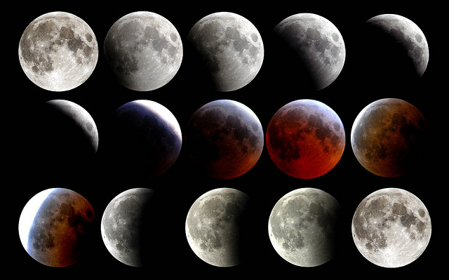 moon phases lunar