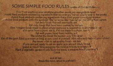 Simple Food Rules