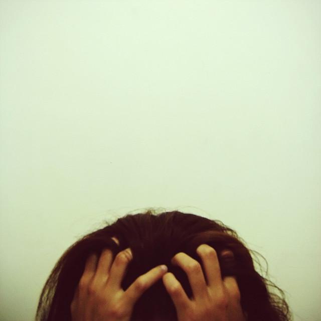 sick tired pain depressed sad