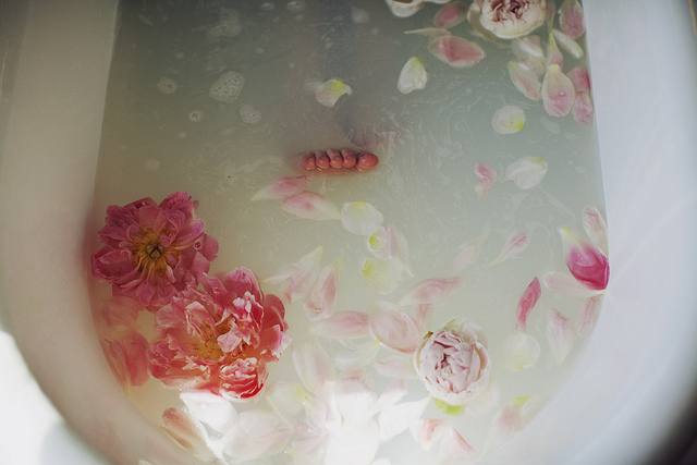 spa bath feet tub