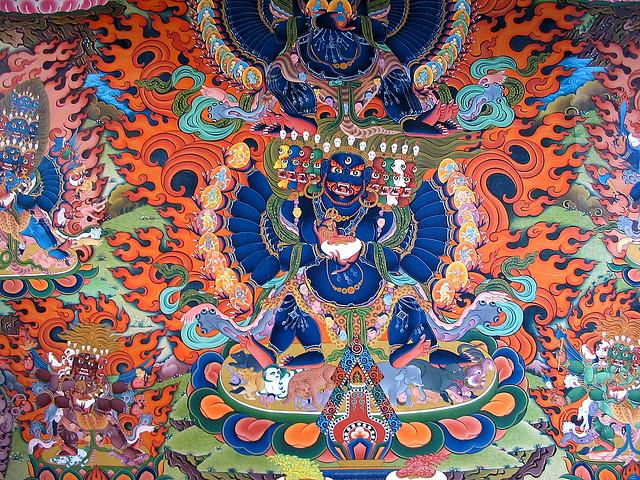 tibetan thangka buddhism