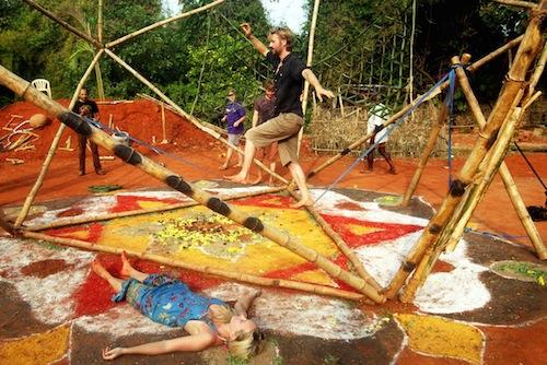 eco art installation