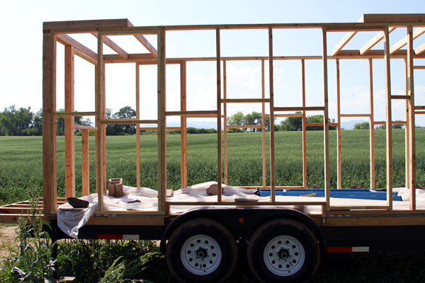 Tiny House Frame Christopher Smith Merete Mueller