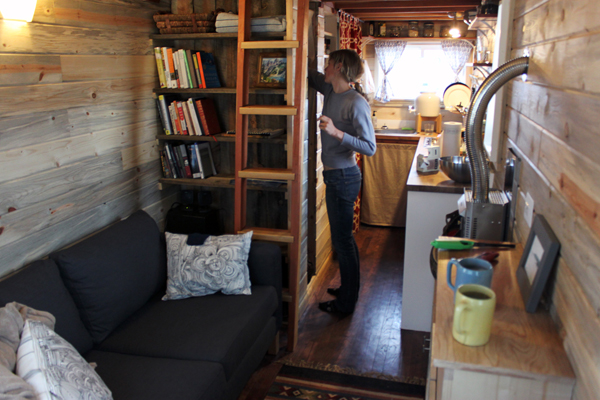 Tiny House Interior Documentary Merete Mueller