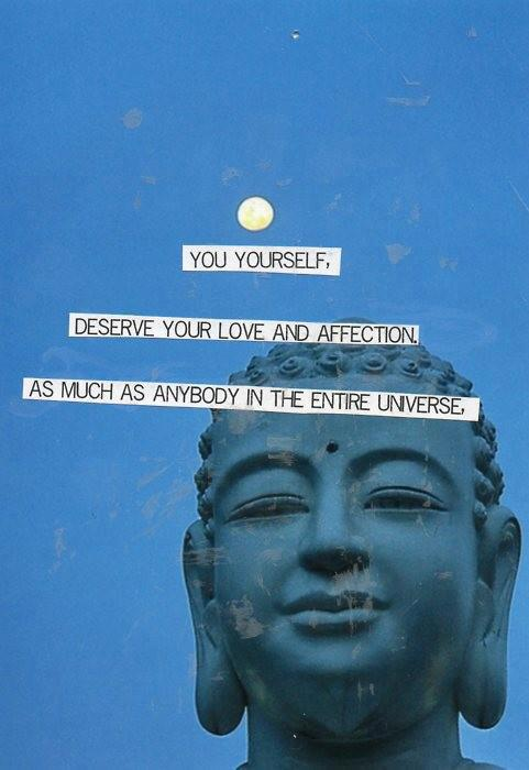 buddha quote self love