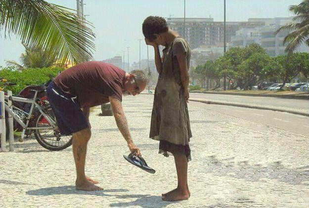 shoes kindness