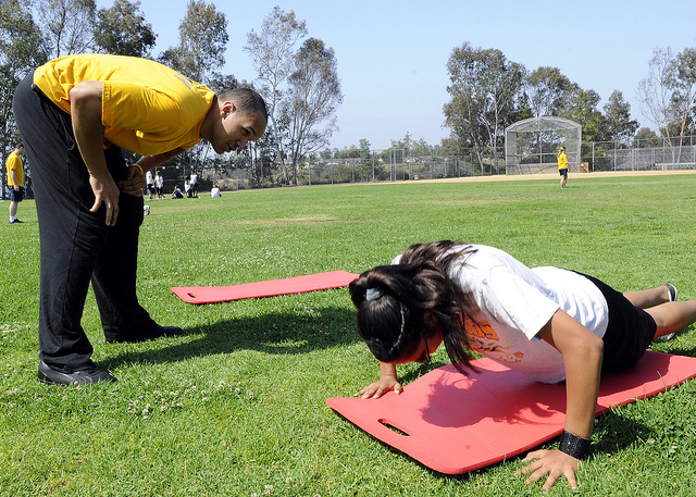 fitness exercise push-up