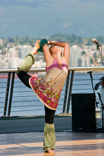 yoga music dance