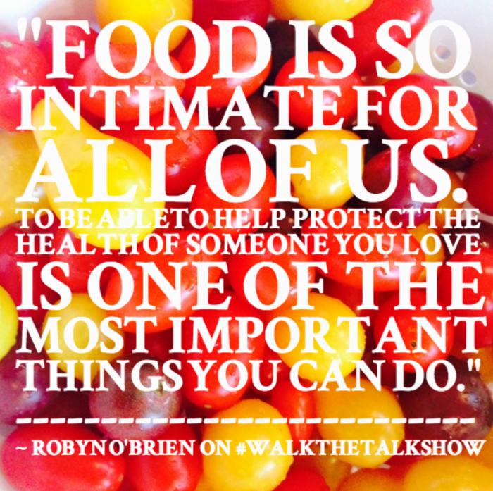 Food Robyn O'Brien