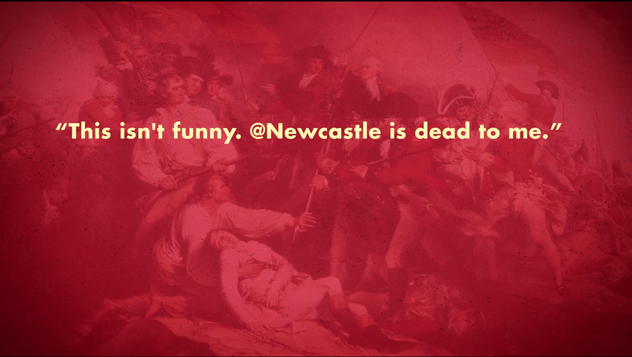 Newcastle Tweet 1