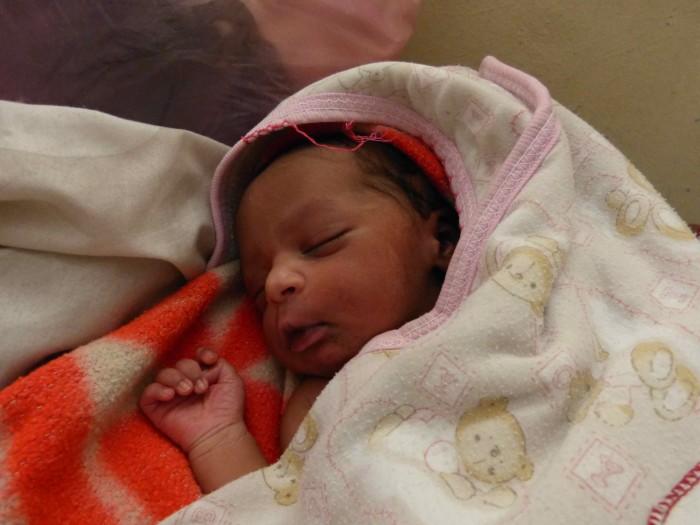 Ethiopian newborn