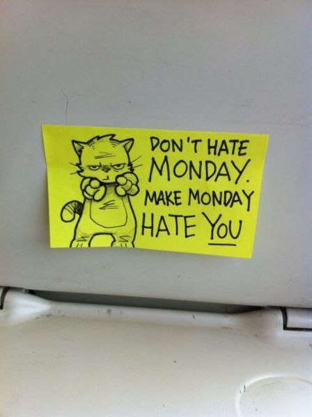 Don't Hate Monday